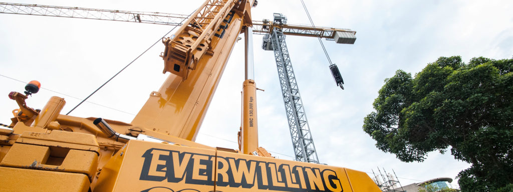 Mobile Cranes & Construction Equipment | Everwilling Group