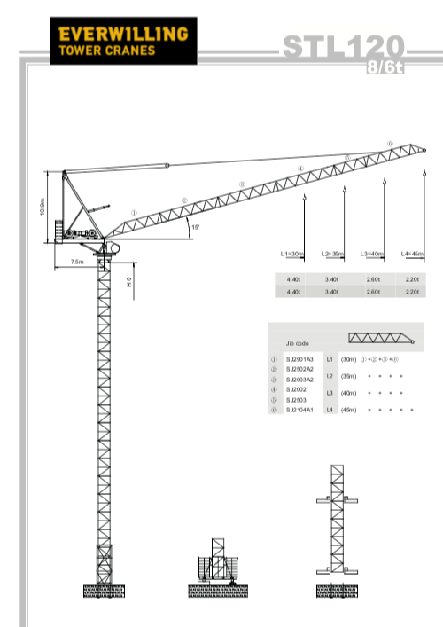 Tower Cranes Hire   Everwilling Group